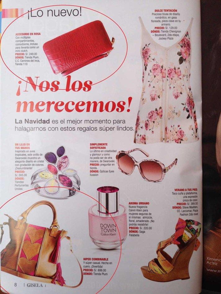 PLUM en Revista Gisella small