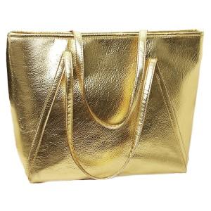 cartera dorada fuerte plum -agatha
