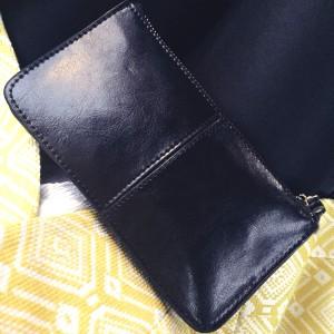 monedero de cuero negro PLUM - pia modelo 4 (2)