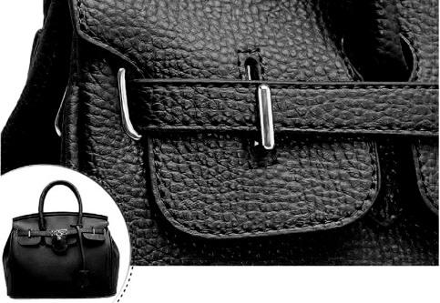 cartera de moda negra PLUM - Paloma 11