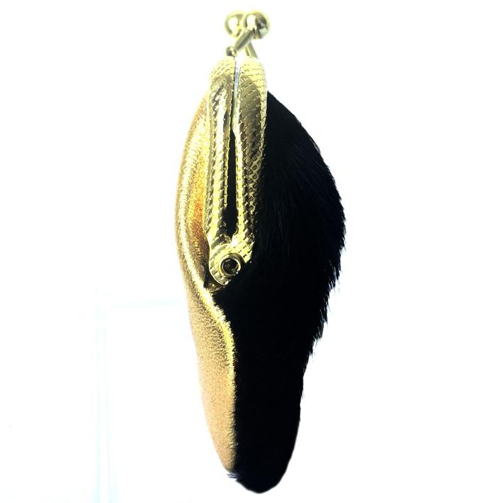 monedero de cuero negro y dorado plum - serena (2)