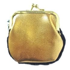 monedero de cuero negro y dorado plum - serena (4)