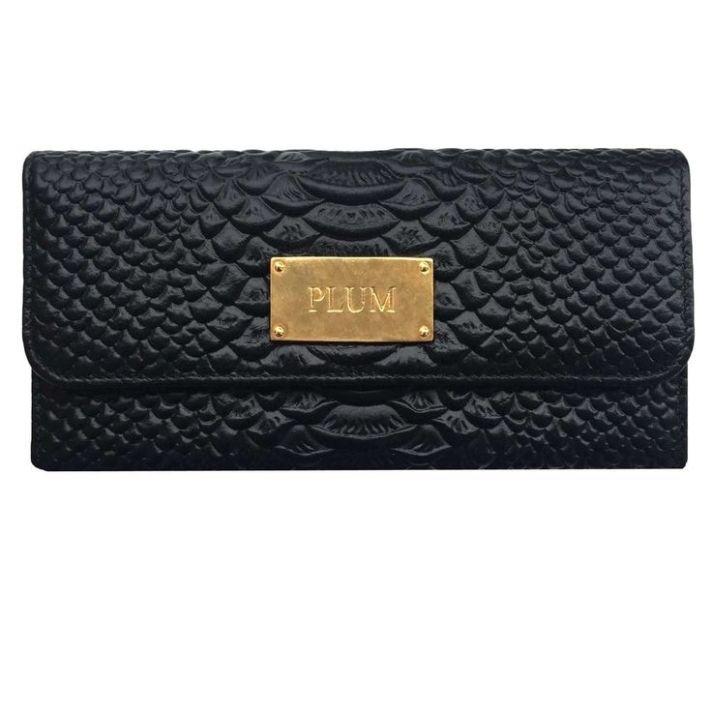 billetera negra luisa