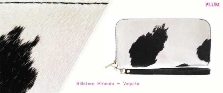 Billetera Miranda Vaquita Display